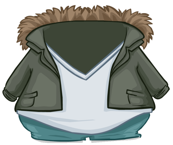 File:Green Fur Lined Jacket clothing icon ID 4805.png