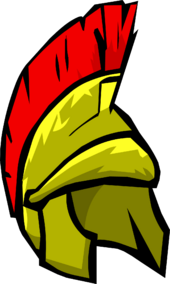 Roman Helmet Icon