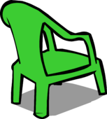 Green Plastic Chair sprite 004