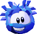 Blue crystal 3d icon