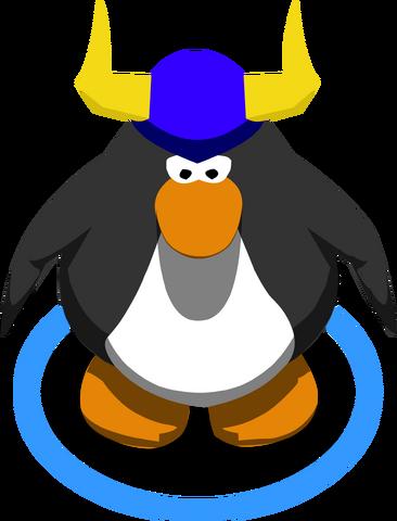 File:Blue Viking Helmet In Game.png