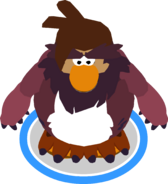 Sasquatch Outfit in-game