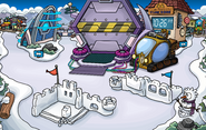 Future Party construction Snow Forts