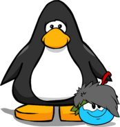 Puffle Hats The Big Bang ID 63 player card