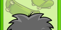 Black Puffle Poster