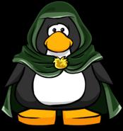 Green Hooden Cloak