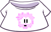 Pink Pixel Puffle Tee icon