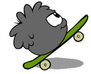 Black Puffle playing okay