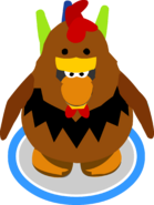 Rooster Costume in-game