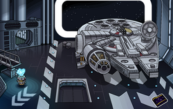 Star Wars Takeover Docking Bay