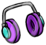 Headphones Pin icon
