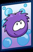Purple Puffle Poster sprite 001