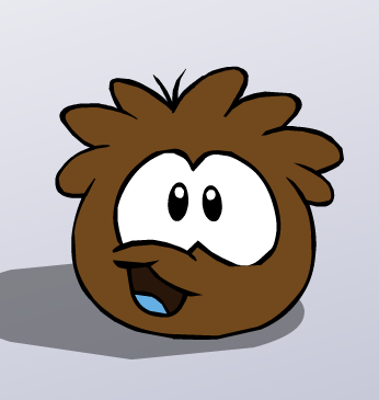 File:Brown Puffle Excited.png