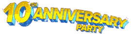 10th Anniversary Party Logo