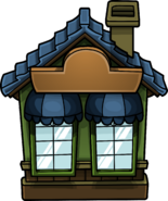 Cozy Green House furniture icon ID 929