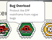 Bug overload stamp book