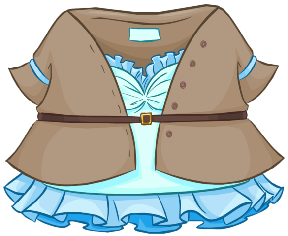 File:Classic Blue Dress clothing icon ID 4804.png