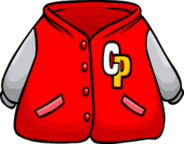 Red Letterman Jacket icon