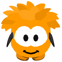 File:Orange Puffle Costume ingame.PNG