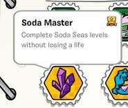 Soda master stamp book