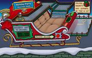 10th Anniversary Party Santa's Sled