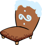 Gingerbread Chair furniture icon ID 795