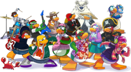 Mascot group yearbook 2015