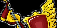 Crimson Lance and Shield
