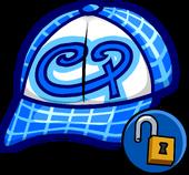 Blue Skater Hat Icon 11090