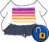 Sunset Party Outfit icon