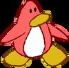 Doodle Dimension penguin Peach