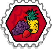 Fruit Smasher Stamp