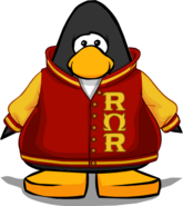 ROR Jacket on Player Card
