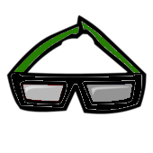 File:Green Wayfarer Glasses.png