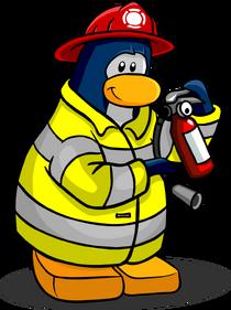 Fire Fighter penguin