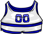 Blue Track & Field Uniform clothing icon ID 4006