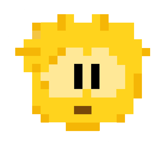 File:Pixel Gold Puffle.png
