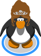 The Majesty on a penguin in-game