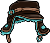 Brown Teal Cap icon