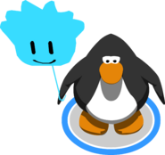 Blue Puffle Balloon in-game
