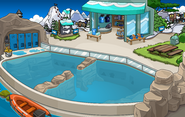 Finding Dory Party Dock