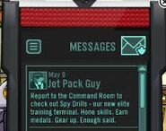 Message Spy Drills