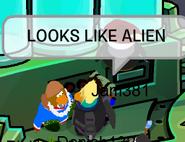 Alien gag
