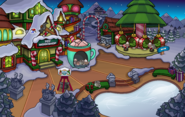 Crystal Puffle Pin location