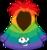 Rainbow Smirk Hoodie icon