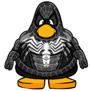 Venom Symbiote from a Player Card