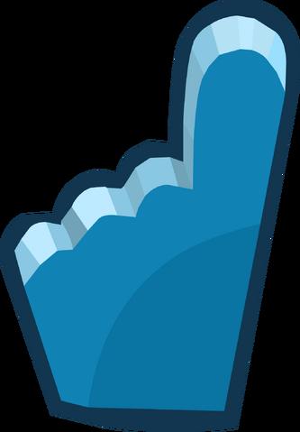 File:Penguin Cup 2014 Emoticons Blue Foam Finger.png