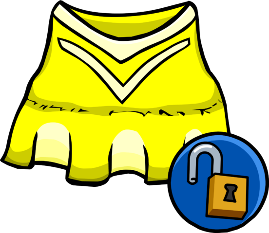 File:Yellow Cheerleader Outfit unlockable icon.png
