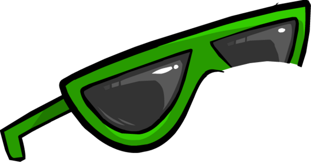 File:Green Sunglasses4.png