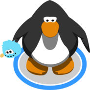 Blue Puffle Stuffie ingame